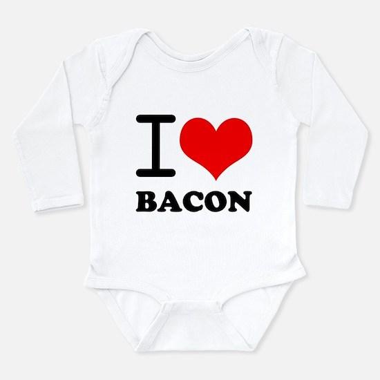 I Love Bacon Onesie Romper Suit