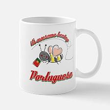 Awesome Being Portuguese Mug