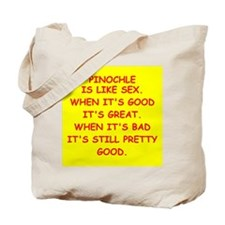 pinochle Tote Bag