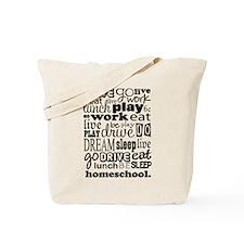 Homeschool Gift Tote Bag