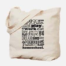 Homeschool Gift Tote Bag
