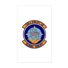 709th Airlift Squadron Rectangle Decal