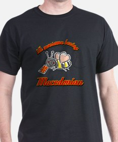 Awesome Being Macedonian T-Shirt