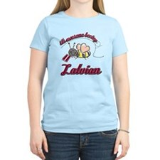 Awesome Being Latvian T-Shirt