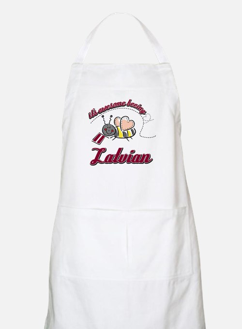 Awesome Being Latvian Apron