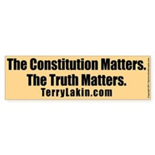 The Truth Matters Bumper Sticker 10 PK