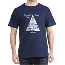 New York City Food Pyramid T-Shirt