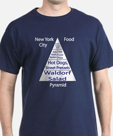 New York City Food Pyramid T-Shirt