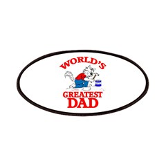 WORLD'S GREATEST DAD Patches