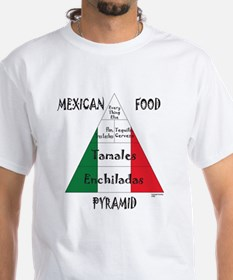 Mexican Food Pyramid Shirt