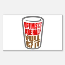 OPTIMISTS... Decal