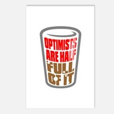 OPTIMISTS... Postcards (Package of 8)