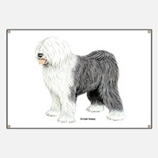 Old English Sheepdog Banner