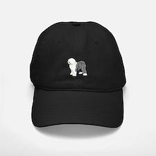 Old English Sheepdog Baseball Hat