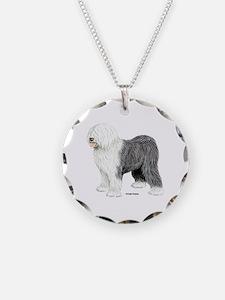 Old English Sheepdog Necklace