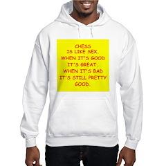 i love chess Hoodie