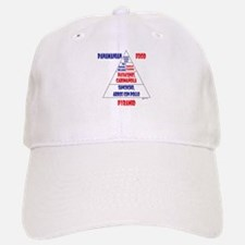 Panamanian Food Pyramid Baseball Baseball Cap