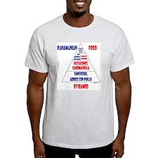 Panamanian Food Pyramid T-Shirt