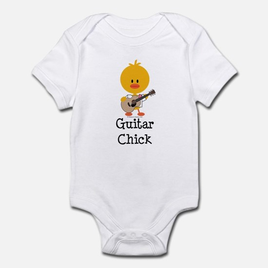 Guitar Chick Infant Bodysuit