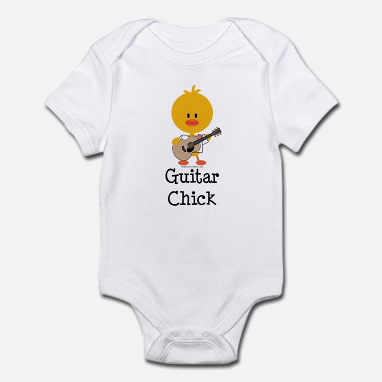 Guitar Chick Infant Bodysuit
