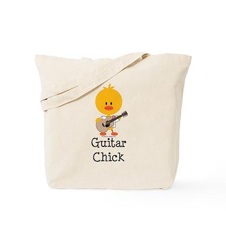 Guitar Chick Tote Bag