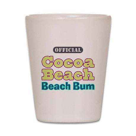 Cocoa Beach Beach Bum - Shot Glass