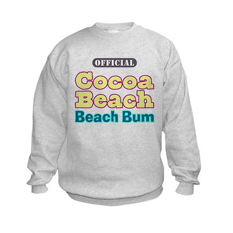 Cocoa Beach Beach Bum - Kids Sweatshirt