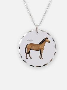 American Quarter Horse Necklace