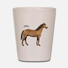 American Quarter Horse Shot Glass