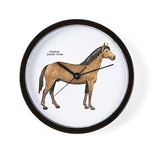 American Quarter Horse Wall Clock