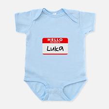 Cute Luka Infant Bodysuit