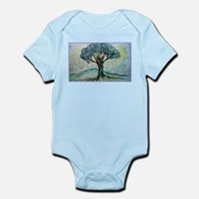 Tree, Colorful, Infant Bodysuit