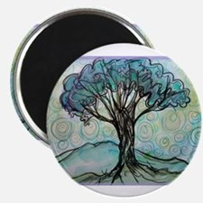 """Tree, Colorful, 2.25"""" Magnet (10 pack)"""