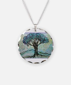 Tree, Colorful, Necklace