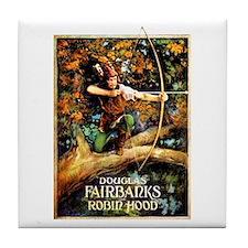 Robin Hood Tile Coaster