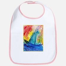 Sailboat, colorful, Bib