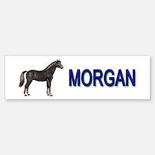 Morgan Horse Bumper Bumper Sticker