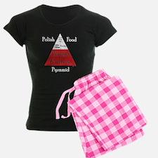 Polish Food Pyramid Pajamas