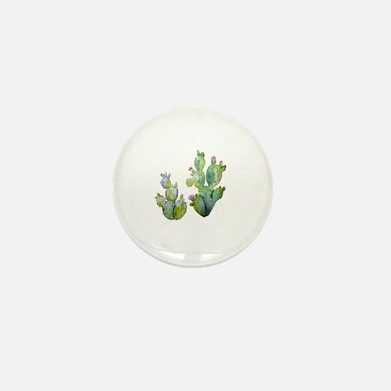 Cute Cactus Mini Button