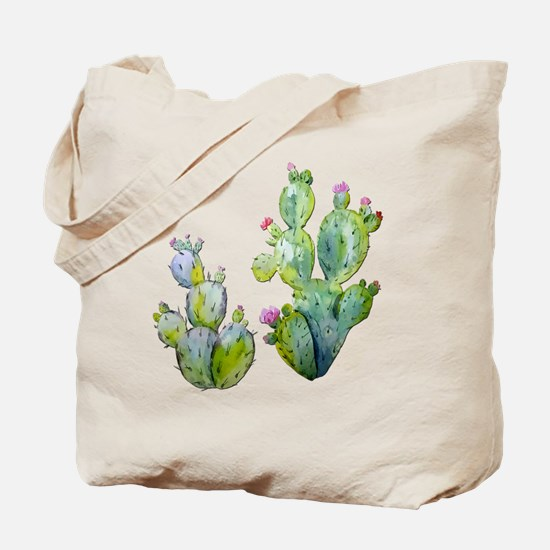 Cute Cactus Tote Bag