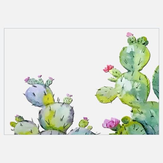 Cute Cactus Wall Art