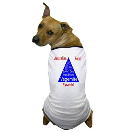 Australian Food Pyramid Dog T-Shirt