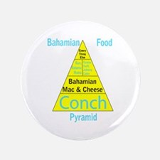 "Bahamian Food Pyramid 3.5"" Button"
