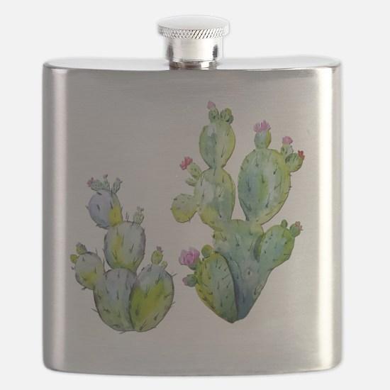 Cute Cactus Flask