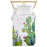 Cactus Luxe Twin Duvet Cover