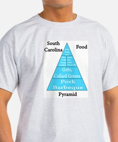 South Carolina Food Pyramid T-Shirt