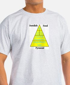 Swedish Food Pyramid T-Shirt