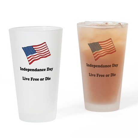Independence Day Pint Glass