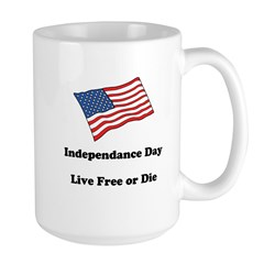 Independence Day Large Mug