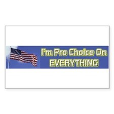I'm Pro Choice Decal